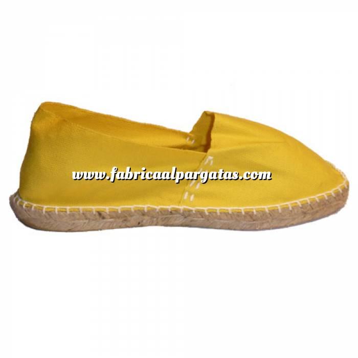 Imagen Amarillo CLASM Alpargata Clásica cerrada Mujer Amarillo Talla 35