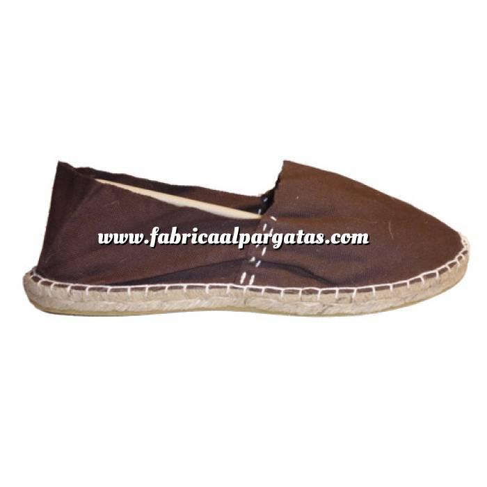 Imagen Marrón Chocolate CLASM Alpargata Clásica cerrada MUJER color MARRON CHOCOLATE Talla 36