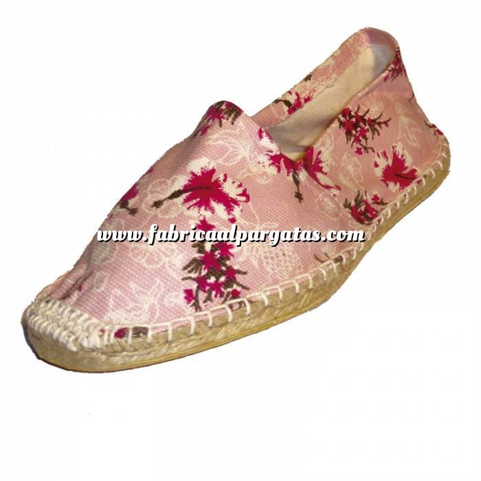 Imagen Flores Rosas ESTM - Estampada Mujer Flores Rosas Talla 37