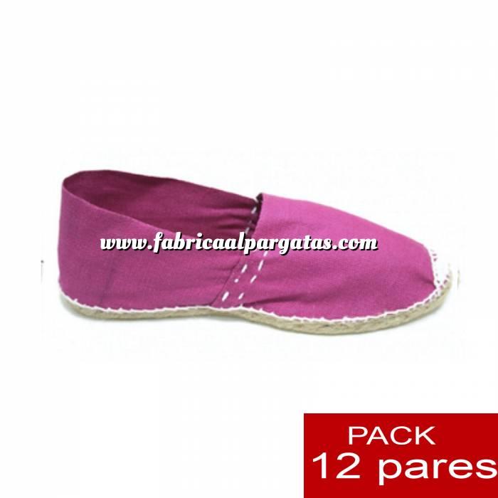 Imagen Para Niño Alpargatas Niño color FUCSIA LOTE de 12 uds (tallas 28-34)