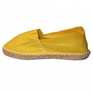 Amarillo - CLASN Alpargata clásica cerrada Amarillo Talla 35