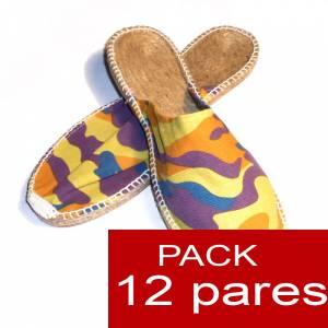 Para Hombres - Alpargatas Abiertas HOMBRE Desierto caja 12 pares (Últimas unidades)